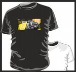 KOOLART TYRE TRAX 4x4 Design for Land Rover Defender Twisted mens or ladyfit t-shirt